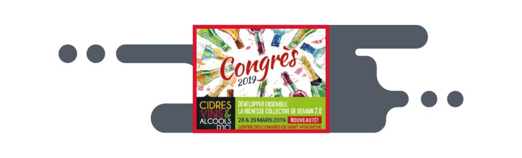 PROFECTA LABELS AT THE CONGRÈS DES VINS, CIDRES ET ALCOOLS D'ICI 2019