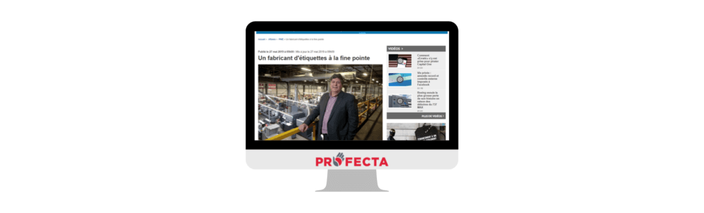 LAPRESSE PUBLISHES ON PROFECTA AND ITS 4.0 FACTORY PROJECT